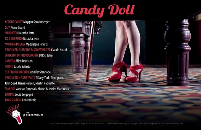 Maygan Sensenberger is starring in The Candy Doll
